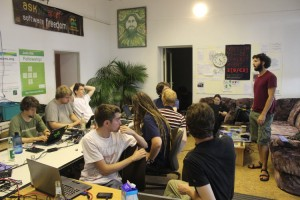 At the first F-Droid Workshop, Berlin